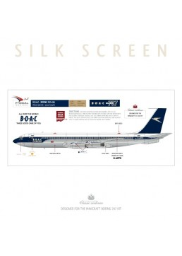 BOAC (Cunard / Golden Speedbird) - Boeing 707-436