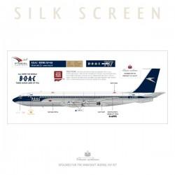 BOAC - Boeing 707-436 (Cunard / Golden Speedbird)