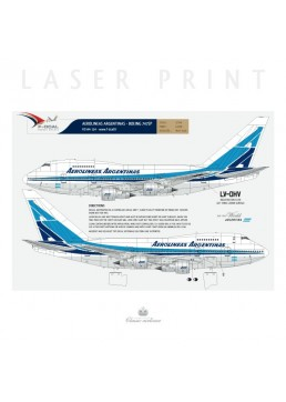 Aerolineas Argentinas - Boeing 747SP