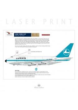 Luxair - Boeing 747SP