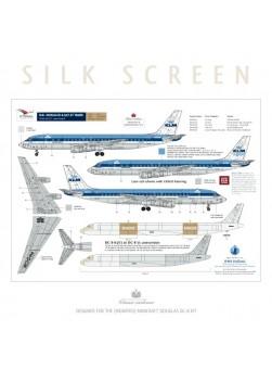 KLM (Blue top) - Douglas DC-8-33/53/55