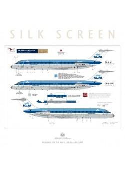 KLM (Blue top) - Douglas DC-9-15/32/33RC