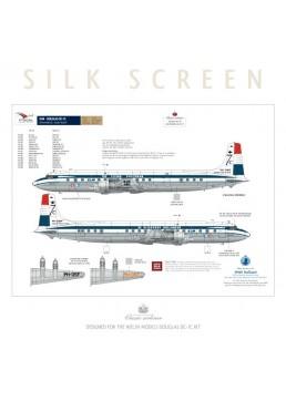 KLM (Delivery scheme) - Douglas DC-7