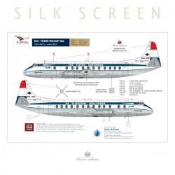KLM - Viscount 800 (Delivery scheme)