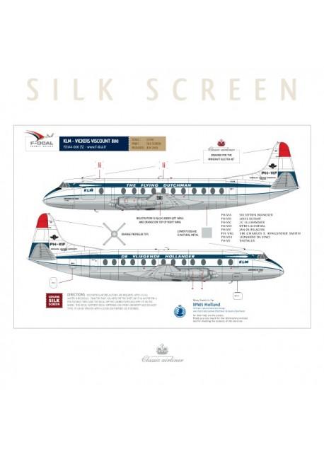 KLM (Delivery scheme) - Viscount 800