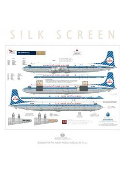 KLM (Diagonal stripes) - Douglas DC-7