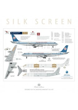 KLM (Diagonal stripes) - Douglas DC-8-33/53/55