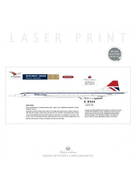 British Airways - Concorde (Negus & Negus)