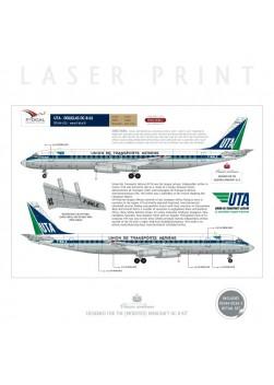 UTA - Douglas DC-8-62 (Delivery scheme)