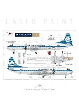 KLM - Lockheed L188 Electra (Horizontal stripes)