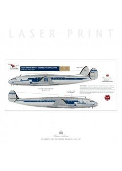 South African Airways - Lockheed L749 Constellation