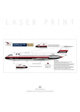 Laker Airways - BAC 1-11