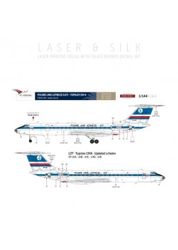 LOT - Tupolev 134 (Updated)