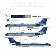 Aeroflot - Tupolev 134 (Delivery scheme)