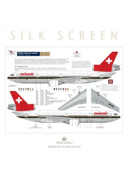 Swissair (Chocolate) - Douglas DC-10-30