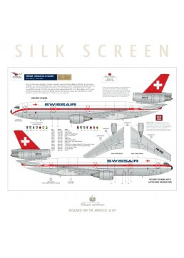Swissair (Delivery scheme) - Douglas DC-10-30