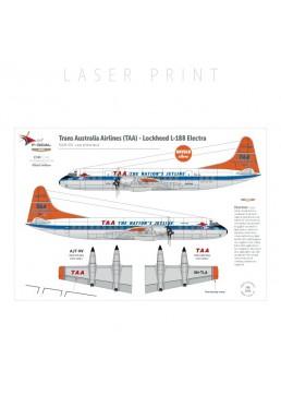 TAA (Dayglo) - Lockheed L188 Electra