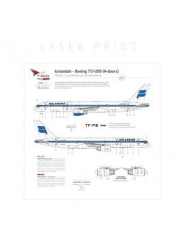 Icelandair - Boeing 757-200 (4-doors)