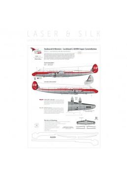 Seaboard & Western (Last scheme) - Lockheed L-1049