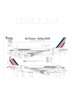 Air France (Barcode 2009) - Airbus A319