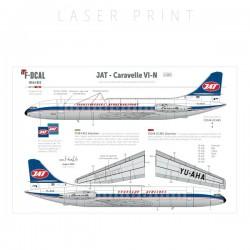 JAT (Del. scheme dark) - Caravelle III