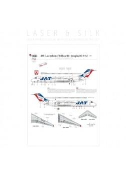 JAT (Last scheme billboard) - Douglas DC-9-32