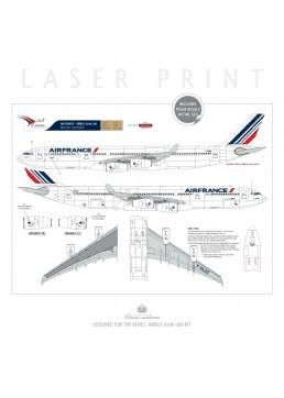 Air France (Barcode 2009) - Airbus A340-300