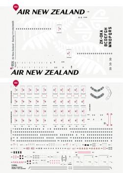 Air New Zealand - Boeing 777-200/300ER