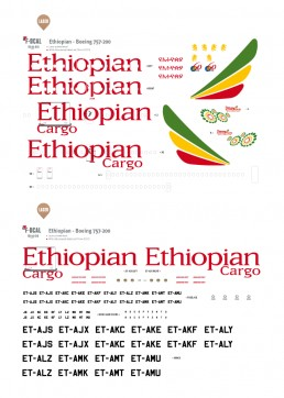 Ethiopian - Boeing 757-200