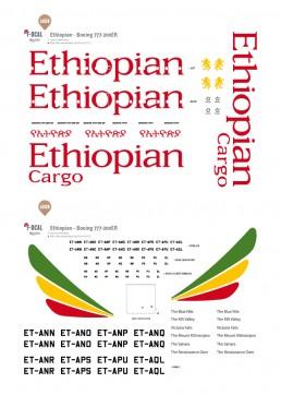 Ethiopian - Boeing 777-200