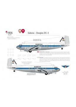 Sabena - Douglas DC-3