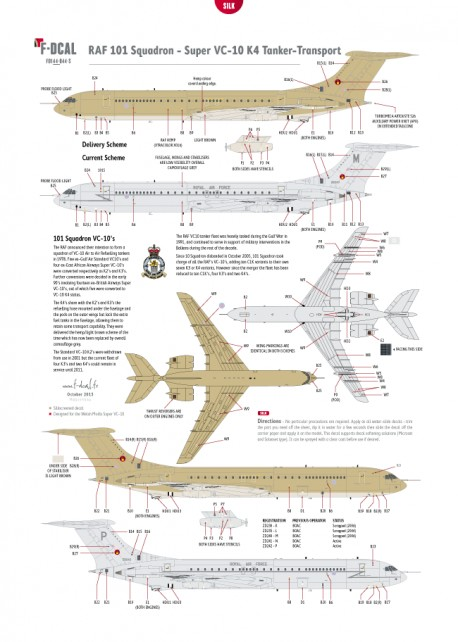Royal Air Force (Hemp/Grey) - Super VC-10 K3