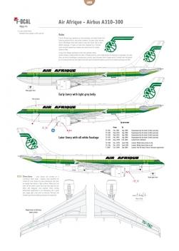 Air Afrique - Airbus A310