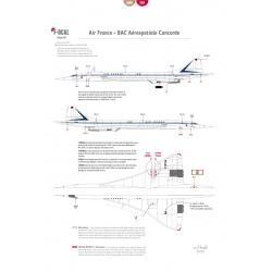 Air France - Concorde (Shark tail)