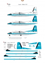 Luxair - Fokker F27