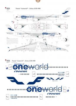"""Finnair """"oneworld"""" - Airbus A350-900"""