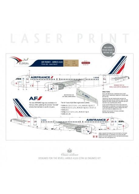 Air France (Barcode 2009) - Airbus A320