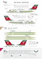 Manx Airlines (first scheme) - BAe146-200
