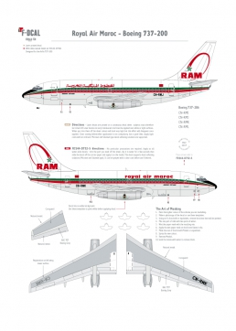 Royal Air Maroc - Boeing 737-200