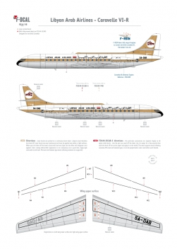 Libyan Arab Airlines - Caravelle VI-R