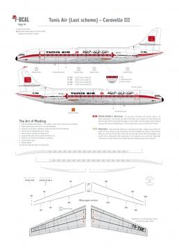 Tunis Air (Last scheme) - Caravelle III