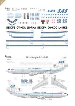SAS - Douglas DC-10-30