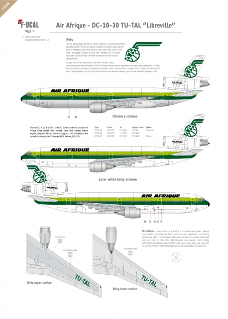 """Air Afrique - Douglas DC-10-30 TU-TAL """"Libreville"""""""