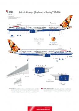 British Airways - Boeing 757-200 (Bauhaus)