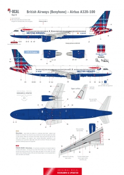 British Airways (Tartan) - Airbus A320