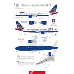 British Airways (Tartan) - Airbus A320