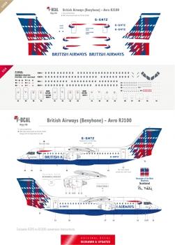British Airways - RJ85/RJ100 (Benyhone)