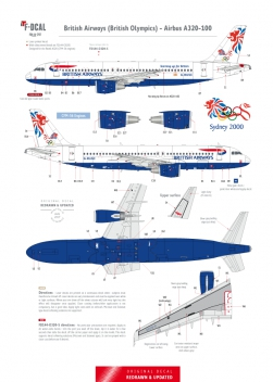 British Airways (British Olympics) - Airbus A320