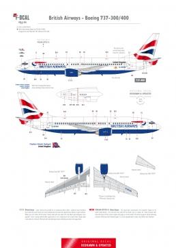 British Airways (Chatham Dockyard) - Boeing 737-300/400