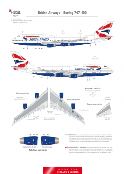 British Airways - Boeing 747-400 (Chatham Dockyard)